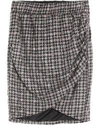 Soallure Mini Skirt - Black