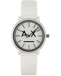 Armani Exchange Montre de poignet - Blanc