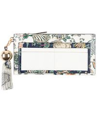 Tory Burch Portefeuille - Blanc