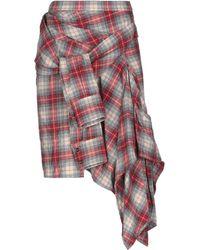 DSquared² Knee Length Skirt - Grey