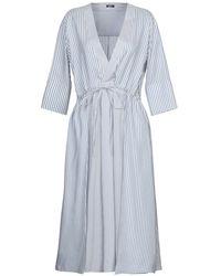 Jil Sander Navy 3/4 Length Dress - Blue