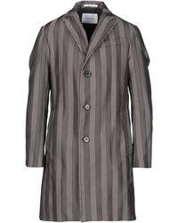 Aglini Overcoat - Grey
