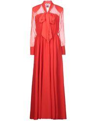 Jijil Vestido largo - Rojo