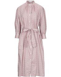 Harris Wharf London Midi Dress - Pink