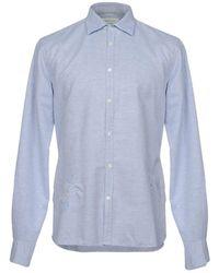 Aglini Camisa - Azul