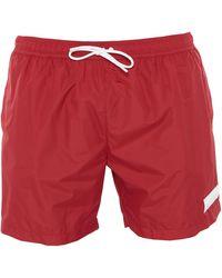 Dondup Swim Trunks - Red