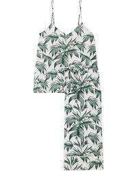 Desmond & Dempsey Pijama - Verde
