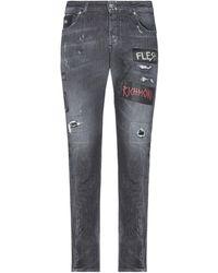 John Richmond Denim Trousers - Black