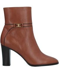 Celine Ankle Boots - Brown