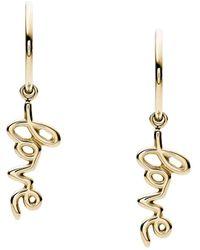 Fossil Earrings - Metallic