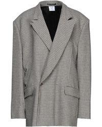 Vetements Suit Jacket - Natural