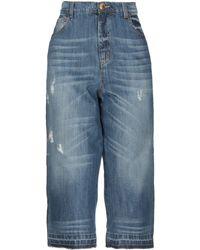 That's It Pantalones capri vaqueros - Azul