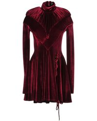 Y. Project Short Dress - Red