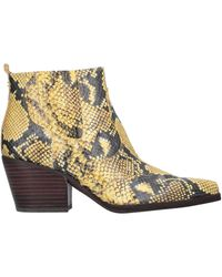 Sam Edelman Ankle Boots - Yellow
