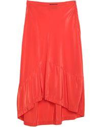 Colville Midi Skirt - Orange