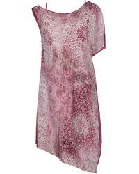 Rebel Queen By Liu Jo Short Dress - Pink