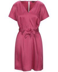 Tara Jarmon Short Dress - Purple