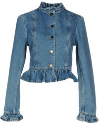 JW Anderson Denim Outerwear - Blue