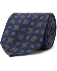 Rubinacci Cravate - Bleu