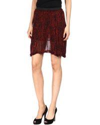 3b17c5e13e Enza Costa - Knee Length Skirt - Lyst