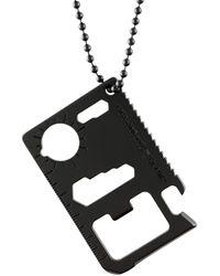 Off-White c/o Virgil Abloh Necklace - Black