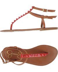Jessica Simpson - Toe Post Sandal - Lyst