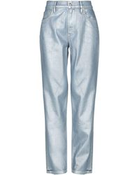 Ralph Lauren Collection Denim Pants - Gray