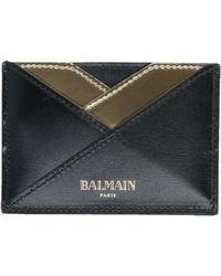 Balmain Document Holder - Black