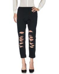 Jijil Casual Pants - Black