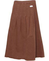 Nine:inthe:morning Denim Skirt - Black