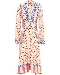 Dodo Bar Or 3/4 Length Dress - Natural