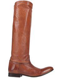 Alberto Fasciani Knee Boots - Brown