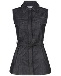 Victoria, Victoria Beckham - Denim Shirt - Lyst