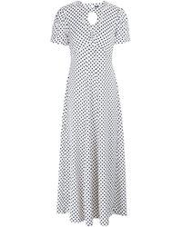 ALEXACHUNG Long Dress - White