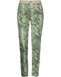 Femme By Michele Rossi Casual Trousers - Green