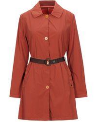 Mason's Overcoat - Red
