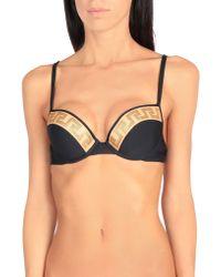 Versace Bikini Top - Black