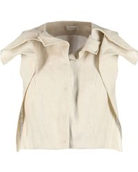 Delpozo Blazer - Natural