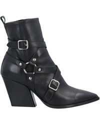 Wo Milano Ankle Boots - Black
