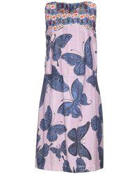 Ultrachic Knee-length Dress - Pink