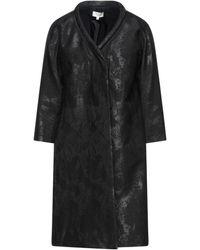 INTROPIA Overcoat - Black