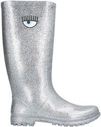 Chiara Ferragni Boots - Metallic