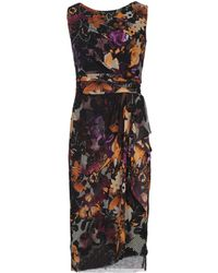 Fuzzi Knee-length Dress - Black
