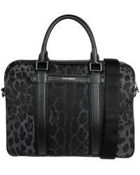 Dolce & Gabbana Work Bags - Black