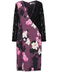 MARTA STUDIO Short Dress - Purple