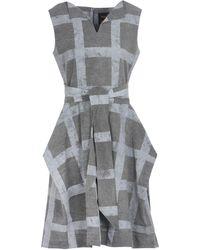 Vivienne Westwood Anglomania Midi Dress - Grey
