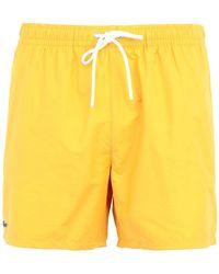 Lacoste Swimming Trunks - Orange