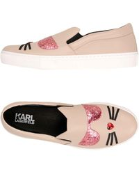 Karl Lagerfeld - Low-tops & Trainers - Lyst