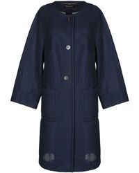 ESCADA Overcoat - Blue