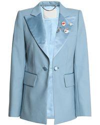Marc Jacobs Suit Jacket - Blue